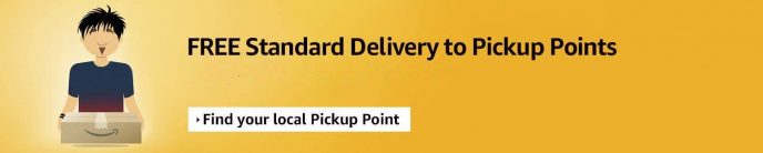 Free Standard Delivery to Pickup Points.