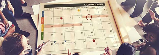 Comment créer un calendrier de publication