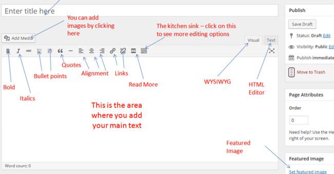 Comment ajouter une page dans WordPress