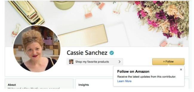 Anmeldeseite für das Amazon-Influencer-Programm