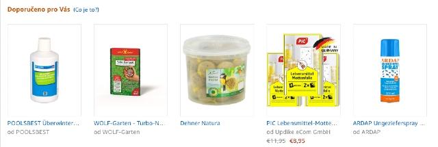 Seznam různých bestsellerů. Zde můžete získat odkazy na nejprodávanější produkty podle kategorie.
