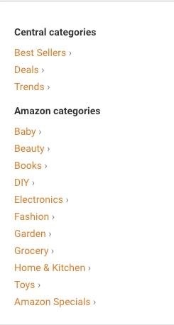 Databáze Tipy a triky pro Amazon Společníky podle kategorií. Zde snadno najdete slibné produkty.