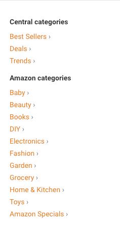 Amazon gelir ortaklığı ipuçları ve tüyolar veritabanı kategori dizini. Buradan, potansiyeli olan ürünleri daha kolay bulabilirsiniz.