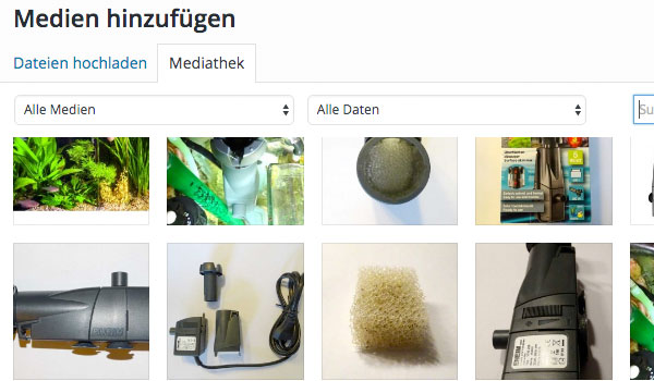 Integration Datei Mediathek
