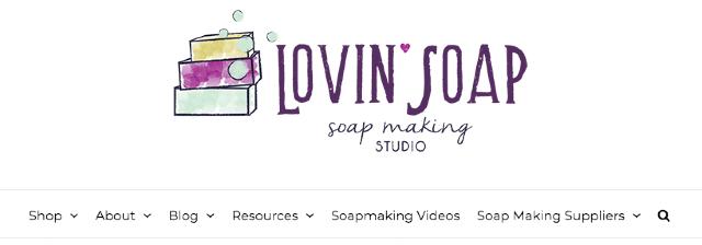 """""""Lovin Soap"""" adlı blogun ekran görüntüsü."""
