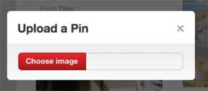Pinterest add affiliate link desktop