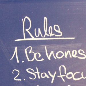 Rules blogging tips