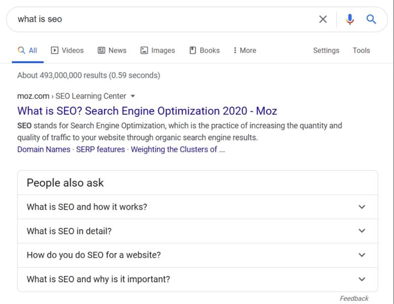 (Alt-tag: Du siehst einen Screenshot einer Google-Suchergebnisseite mit der Sektion 'Ähnliche Fragen' im Fokus. Diese Vorschläge solltest du in deinen Content einbauen, zum Beispiel als Zwischenüberschriften.)