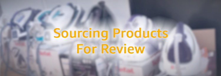 Sourcing Products For Review