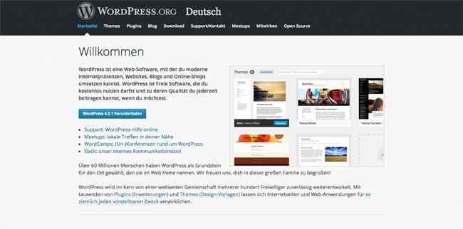 Was ist WordPress herunterladen