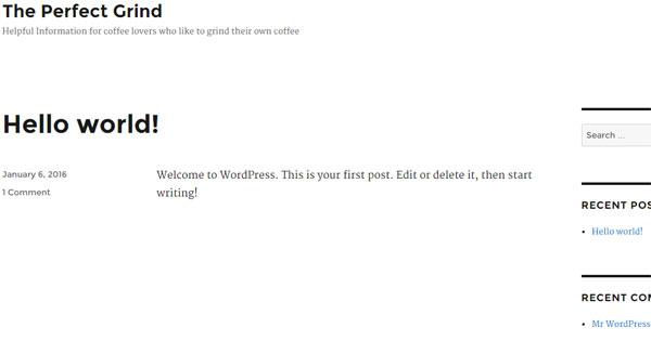 What is wordpress online