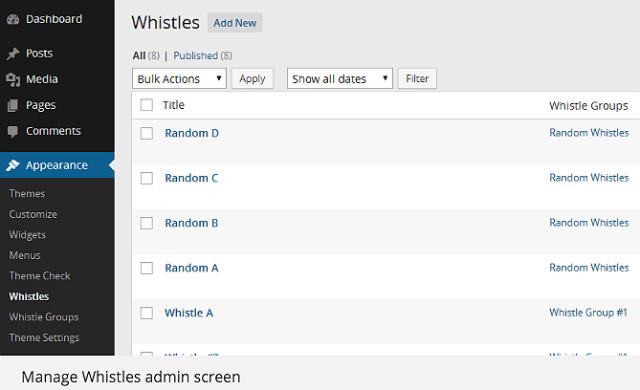 whistles-widget